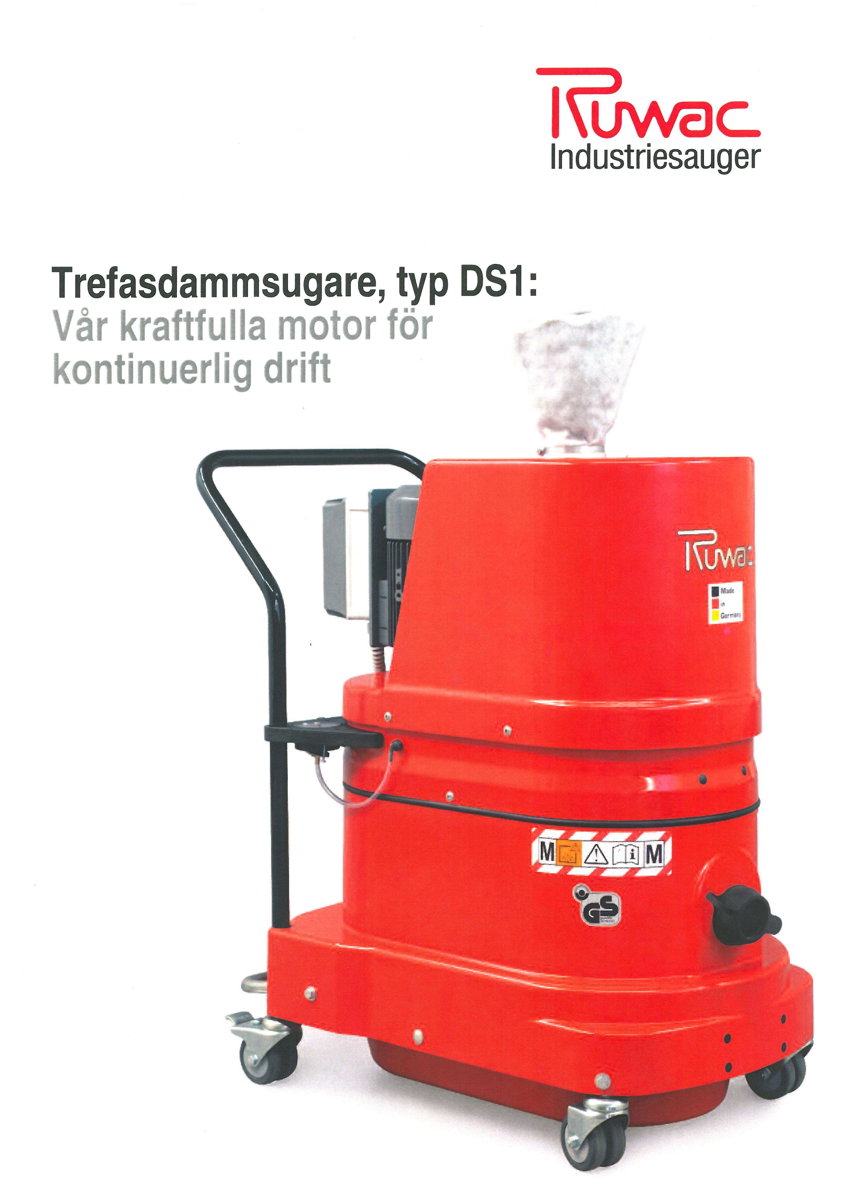 Explosionssäker ATEX II dammsugare industritorget.se