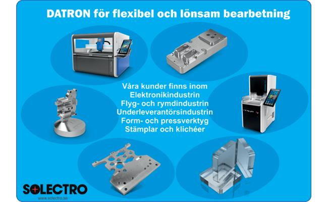 DATRON Neo - 3-axlig CNC-fräsmaskin - industritorget se